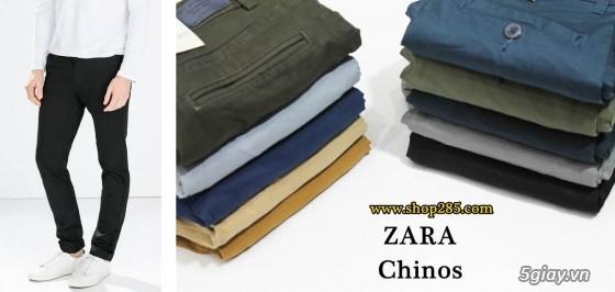 Quần kaki ZARA SlimFit,quần jean Levi's 511 SlimFit,quần short SuperDry,short jean CK - 36
