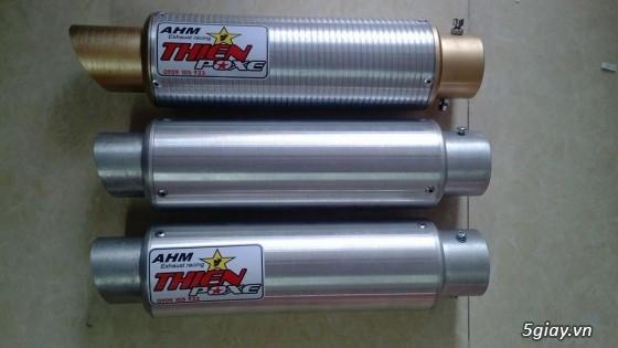 [ Thiện Pôxe Racing ] Pô AHM Lon Tròn - AHM Oval ( Hàng Việt Nam Chất Lượng Cao ) - 20