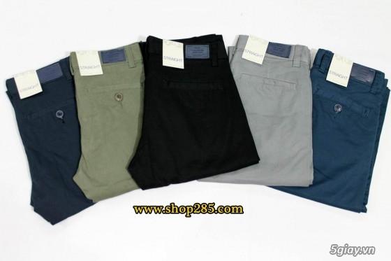 Quần kaki ZARA SlimFit,quần jean Levi's 511 SlimFit,quần short SuperDry,short jean CK - 38