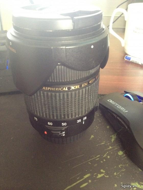 Tamron 28-75 ống kính góc rộng đa năng giá rẻ dành cho fullframe.