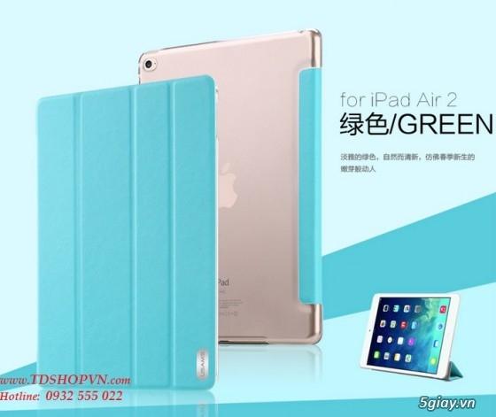 |TDSHOPVN.COM| Sạc, cáp, bao da chính hãng iPad Air 2. Dán kính cường lực Sapphire. - 11