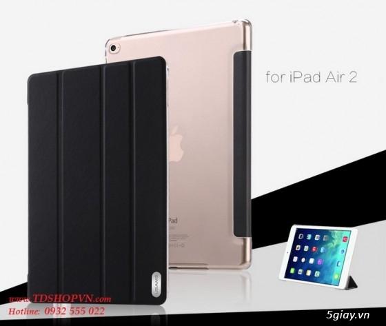 |TDSHOPVN.COM| Sạc, cáp, bao da chính hãng iPad Air 2. Dán kính cường lực Sapphire. - 12