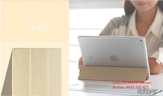 |TDSHOPVN.COM| Sạc, cáp, bao da chính hãng iPad Air 2. Dán kính cường lực Sapphire. - 7
