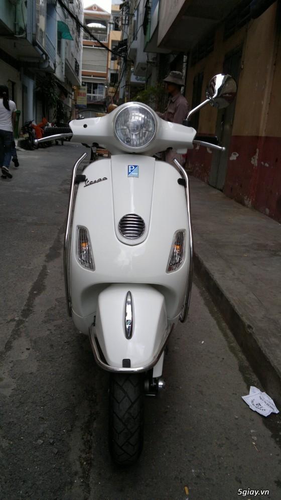 Piaggo vespa lx125 màu trắng sang trọng cần ra đi!!! - 2