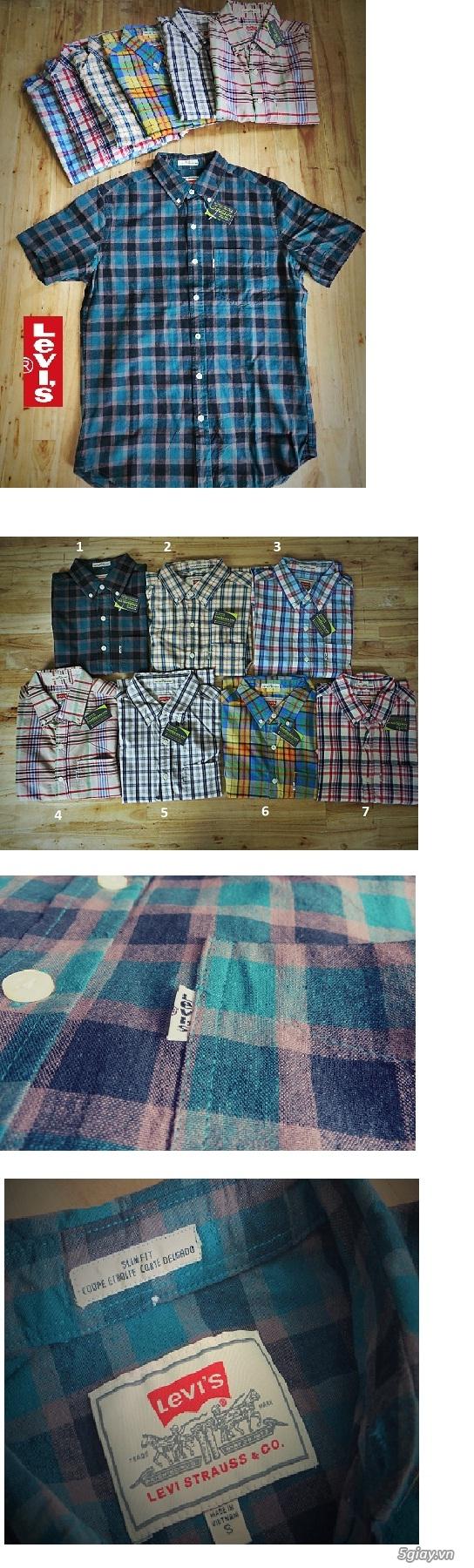[MR.BEAN] Quần jean, áo sơ mi, áo thun nam, mũ nón, giày dép (Holliter, Aber...) - 39