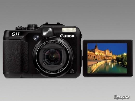Canon G11-JAPAN FULLBOX kể cả bao nhung, thẻ 4GB, Zin 100%, BAO GIÁ TOÀN QUỐC