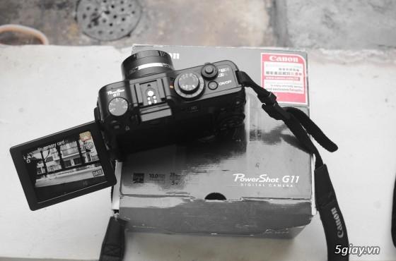 Canon G11-JAPAN FULLBOX kể cả bao nhung, thẻ 4GB, Zin 100%, BAO GIÁ TOÀN QUỐC - 1