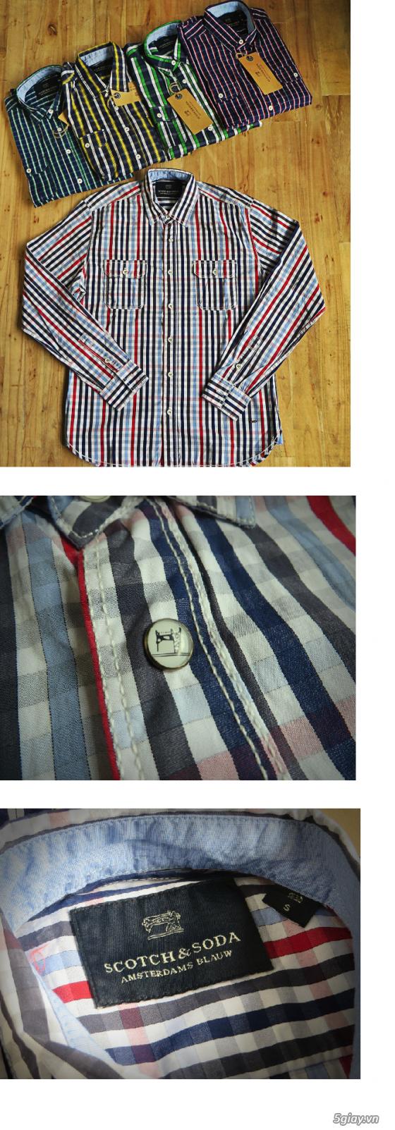 [MR.BEAN] Quần jean, áo sơ mi, áo thun nam, mũ nón, giày dép (Holliter, Aber...) - 35