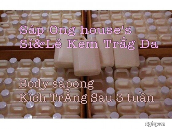 {SÁP ONG HOUSE'S}Body kích Sapong white,Face Pro 5 ngày trắng,Face Kích Teen,Face Mụn - 8