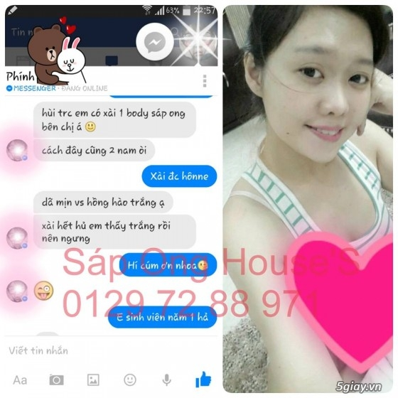 {SÁP ONG HOUSE'S}Body kích Sapong white,Face Pro 5 ngày trắng,Face Kích Teen,Face Mụn - 38