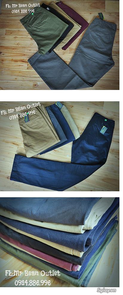 [MR.BEAN] Quần jean, áo sơ mi, áo thun nam, mũ nón, giày dép (Holliter, Aber...) - 34