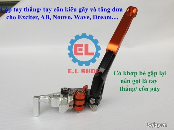 Phụ Tùng độ dàn lửa xe gắn máy: Mobin sườn, dây tăng áp, IC độ - mở giới hạn vòng tua - 20