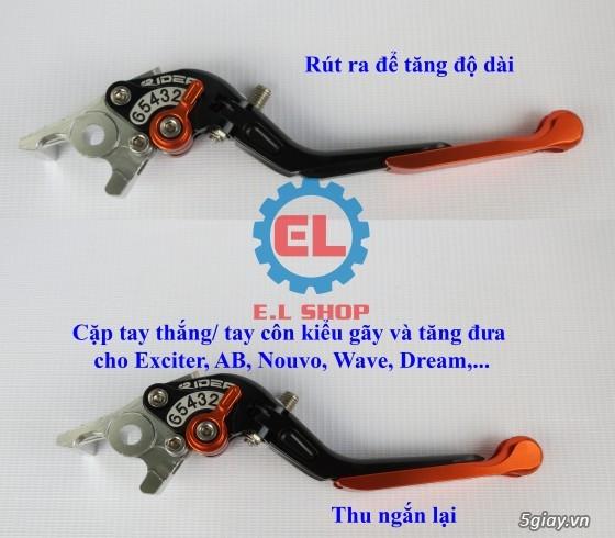 E.L SHOP Đèn led siêu sáng xe mô tô: XHP50, XHP70 i7, Cree, Philips Lumiled,Gương cầu LED xe gắn máy - 14