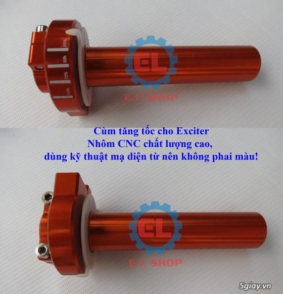 E.L SHOP Đèn led siêu sáng xe mô tô: XHP50, XHP70 i7, Cree, Philips Lumiled,Gương cầu LED xe gắn máy - 26