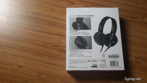 Sony MDR - XB45 xách tay từ Nhật - New 100% - 3