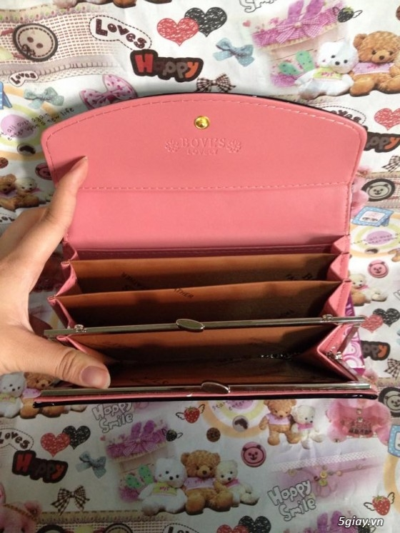 Bóp, ví cầm tay dễ thương giá mềm - 22
