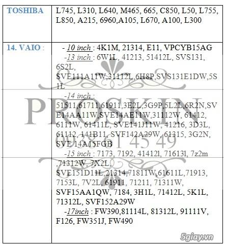 [ProSkin] Miếng dán màn hình iPhone chỉ 10K/mặt (bao dán) - 11