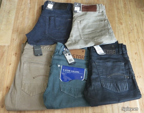 [MR.BEAN] Quần jean, áo sơ mi, áo thun nam, mũ nón, giày dép (Holliter, Aber...) - 31