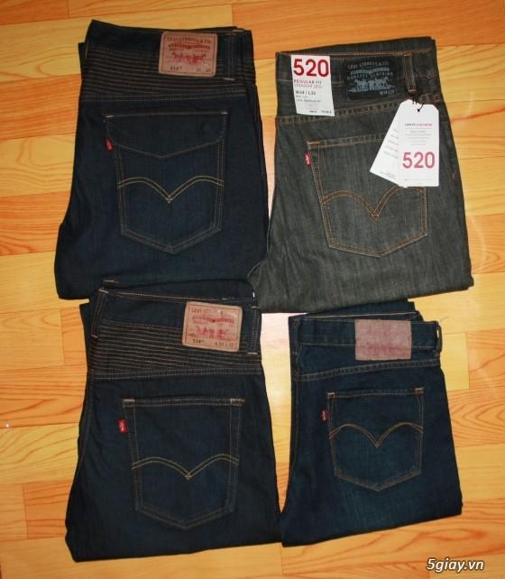 [2ndFashion] chuyên quần Jeans Authentic Levi's, CK, Diesel, Uniqlo, H&M, D&G, Evisu, - 4