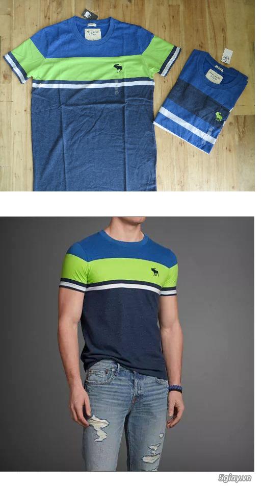 [MR.BEAN] Quần jean, áo sơ mi, áo thun nam, mũ nón, giày dép (Holliter, Aber...) - 26