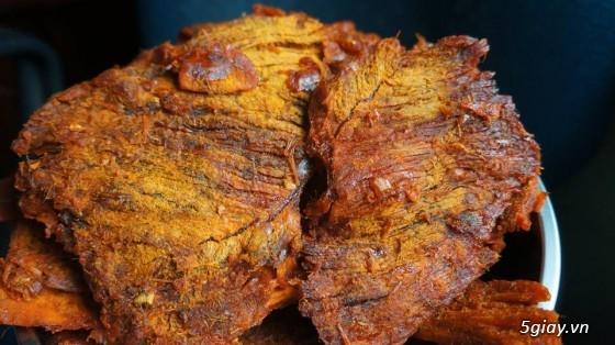 Đặc sản Quy Nhơn Mực ngào, chả ram tôm đất, khô bò, chả bò - 2