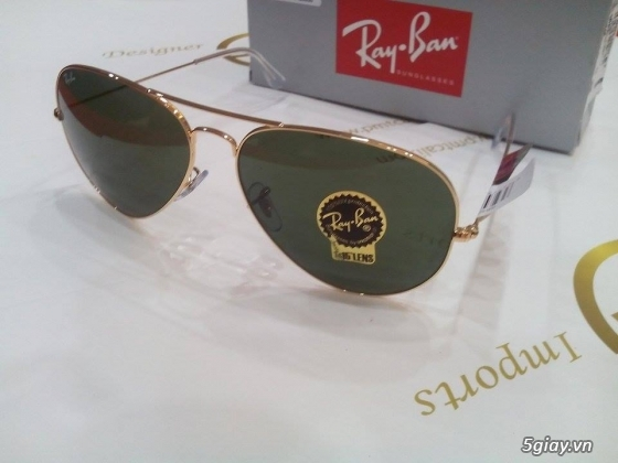 Mắt kính RAYBAN xách tay trực tiếp từ USA,tặng 100.000.000 nếu bán hàng FAKE - 22