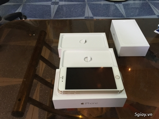 Cần bán iPhone 6 Plus gold 16g - 1