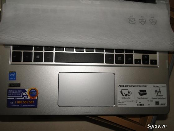 Được công ty tặng 01 cái laptop Asus dòng transformer cảm ứng - icore 5... bán rẻ