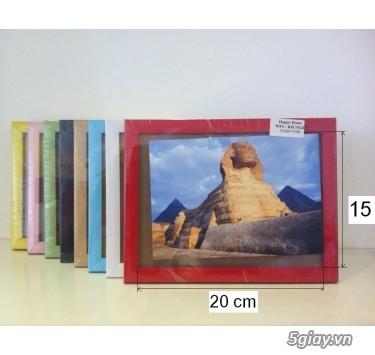 Khung hình nhựa giả gỗ siêu nhẹ bền màu - 6
