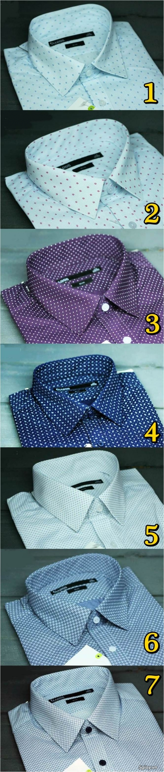 Áo thun Hollister VNXK,áo thun SuperDry VNXK ,áo A&F VNXK ,áo thun cổ tim thun láng - 20