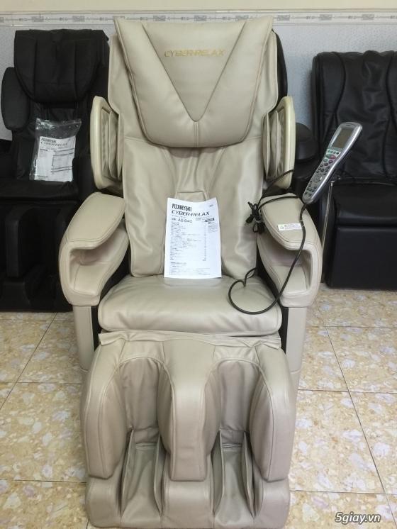 Ghế massage nội địa nhật- Hàng mới về-Khuyến mãi lớn. - 5
