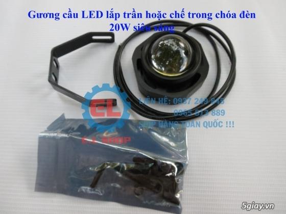 E.L SHOP Đèn led siêu sáng xe mô tô: XHP50, XHP70 i7, Cree, Philips Lumiled,Gương cầu LED xe gắn máy - 41