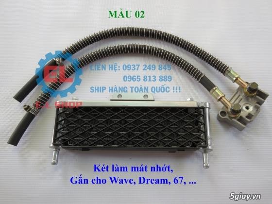 Phụ Tùng độ dàn lửa xe gắn máy: Mobin sườn, dây tăng áp, IC độ - mở giới hạn vòng tua - 11
