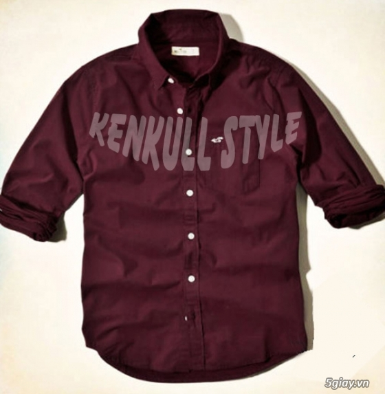 [KenKull Style] Giảm Giá Nhiều Mẫu Sơ Mi Chất Lượng Dành Cho Bạn Trẻ - 26