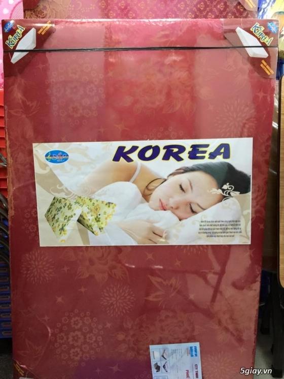 Bán nệm gấp 3 Gòn Ép, PE theo tiêu chuẩn Hàn Quốc giá cực sốc...Free Ship HCM!!! - 4