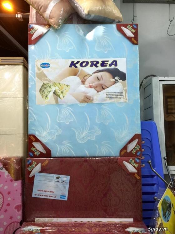 Bán nệm gấp 3 Gòn Ép, PE theo tiêu chuẩn Hàn Quốc giá cực sốc...Free Ship HCM!!!