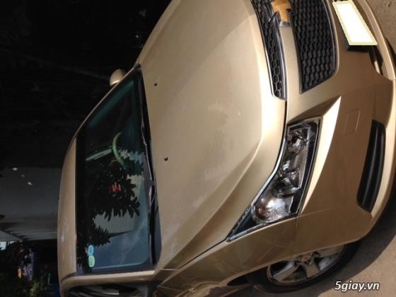 Chevrolet Cruze MT 2013 màu vàng cát,kính bấm điện,nội thất da