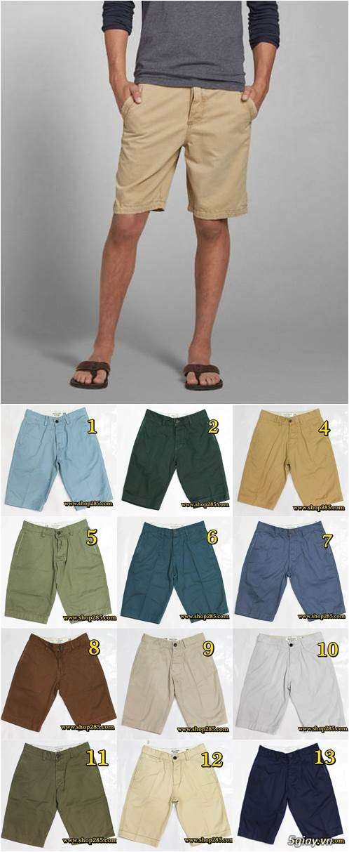 Quần kaki ZARA SlimFit,quần jean Levi's 511 SlimFit,quần short SuperDry,short jean CK - 33
