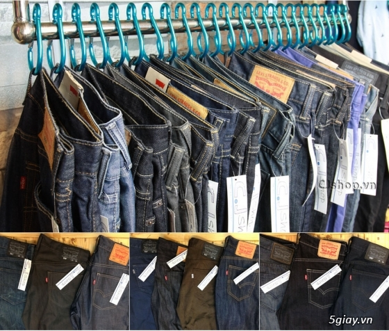 [CJ Shop] Chuyên quần Jean Levi's, áo thun, túi xách, ví (hàng CAMBODIA, nhập USA) - 2