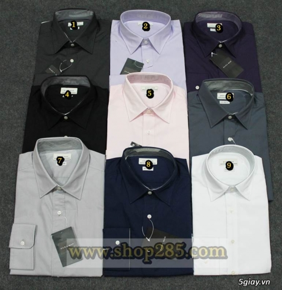 Áo thun Hollister VNXK,áo thun SuperDry VNXK ,áo A&F VNXK ,áo thun cổ tim thun láng - 17