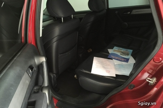 Honda CR_V đăng ký năm 2011 màu đỏ đô - 1