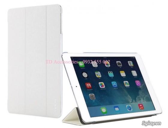 Phụ kiện, Bao da, dán kính, sạc cáp iPad Air, iPad Mini/2/3 - 10