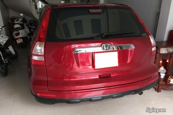Honda CR_V đăng ký năm 2011 màu đỏ đô - 2