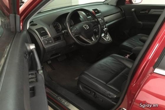 Honda CR_V đăng ký năm 2011 màu đỏ đô - 4