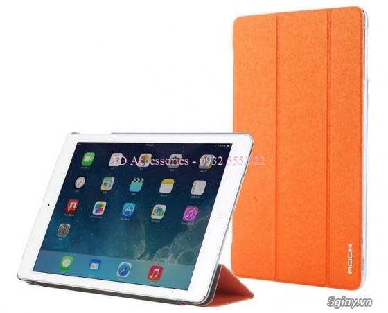 Phụ kiện, Bao da, dán kính, sạc cáp iPad Air, iPad Mini/2/3 - 12