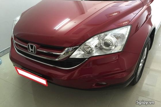 Honda CR_V đăng ký năm 2011 màu đỏ đô