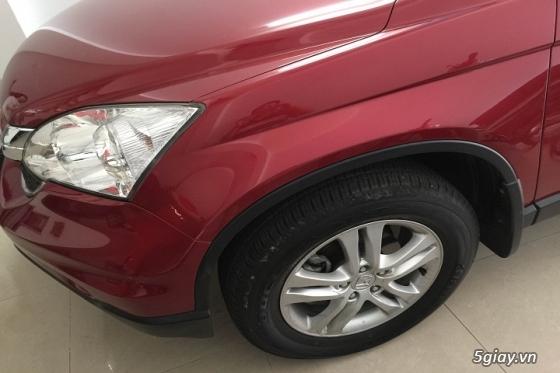 Honda CR_V đăng ký năm 2011 màu đỏ đô - 3
