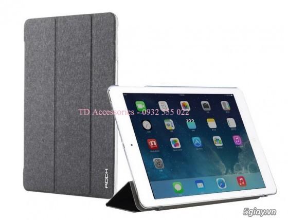 Phụ kiện, Bao da, dán kính, sạc cáp iPad Air, iPad Mini/2/3 - 11