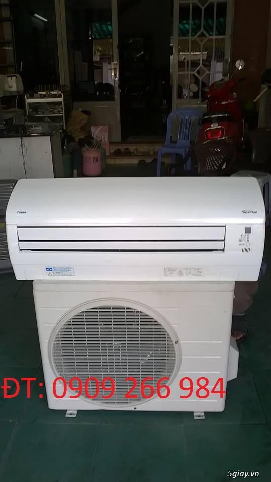 Máy lạnh cũ DAIKIN công suất 1.5HP Inverter- Gas R410A