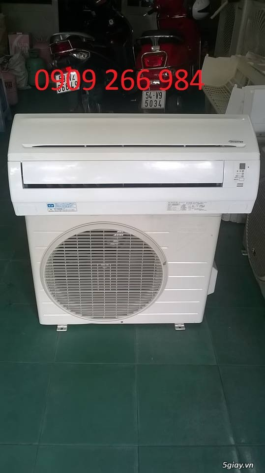 ĐL Tân Tiến :Máy lạnh nội địa Nhật mới 95% bảo hành 15 Tháng ,1 đổi 1 trong 15 tháng giá tốt tại 5s - 7